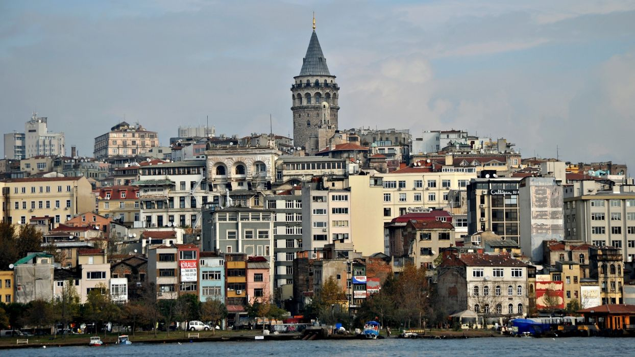 cityscapes Istanbul wallpaper
