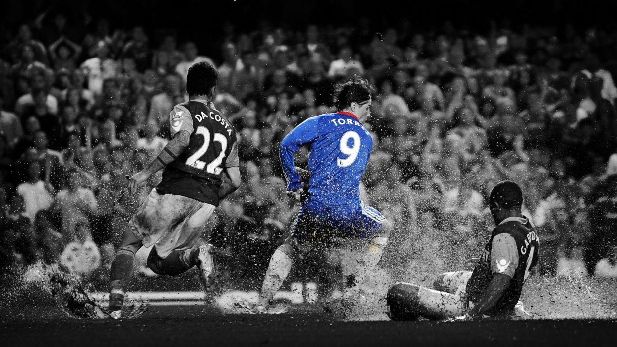 sports soccer Fernando Torres wallpaper