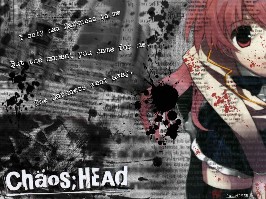 visual novels Chaos;Head wallpaper