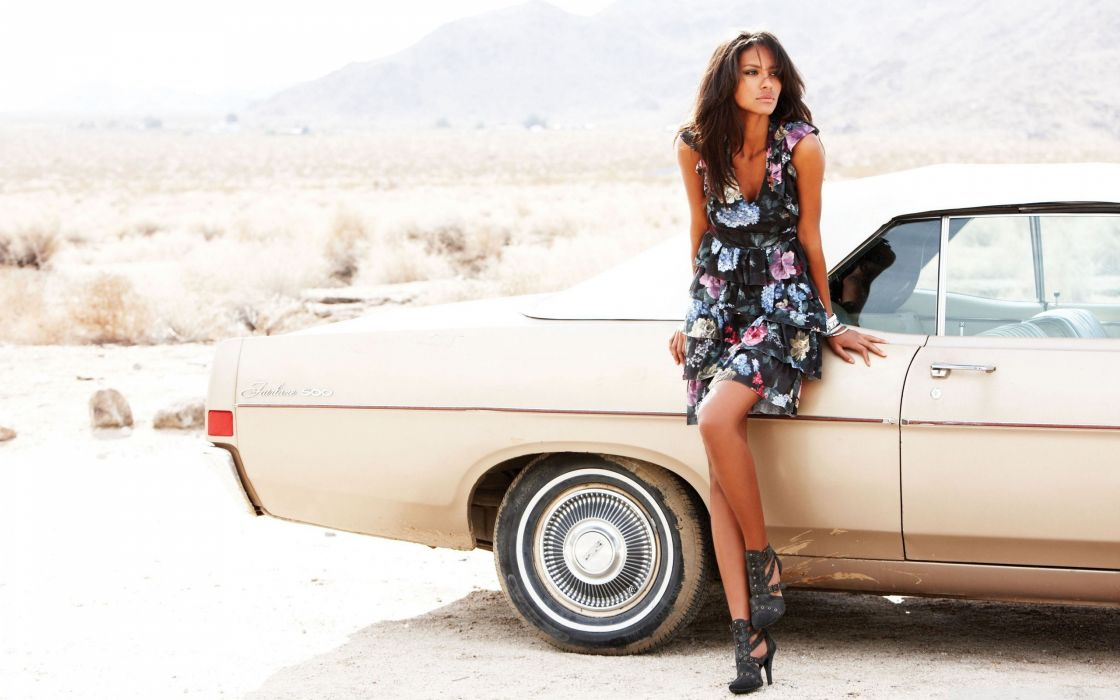 women cars leather boots wallpaper