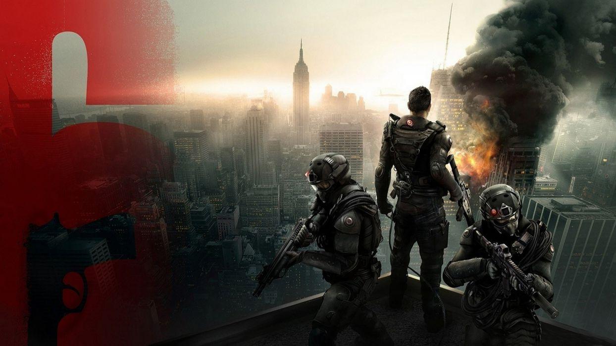 video games cityscapes tom Tom Clancy Rainbow Six : Patriots wallpaper