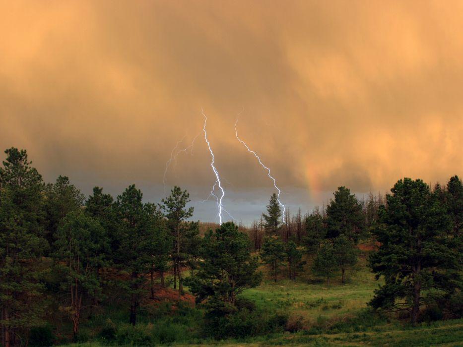 storm summer wallpaper