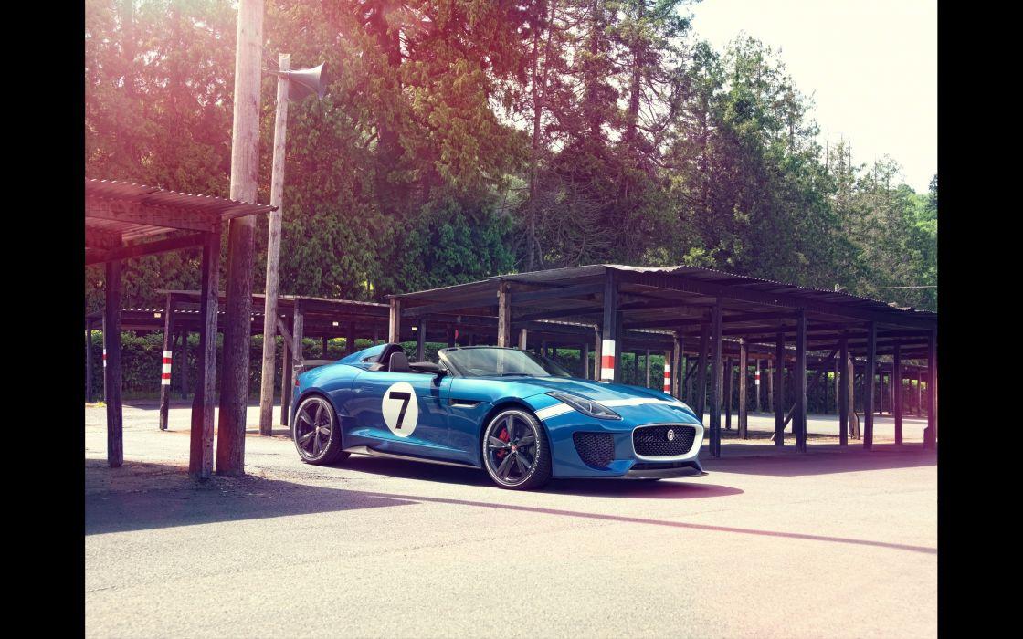 cars Jaguar project static wallpaper