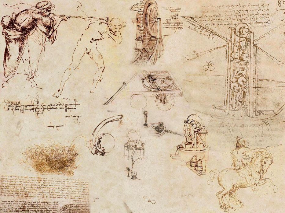 Leonardo Da Vinci Wallpaper | www.imagenesmi.com