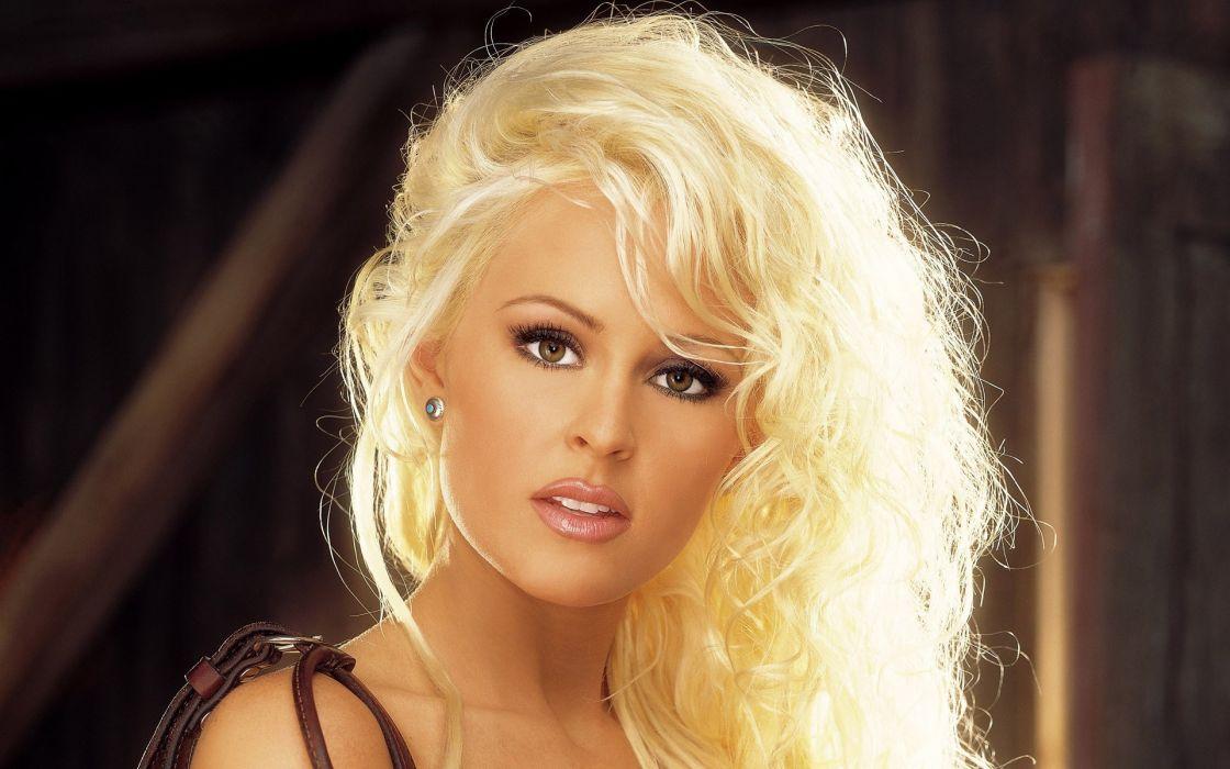 blondes women Playboy magazine wallpaper