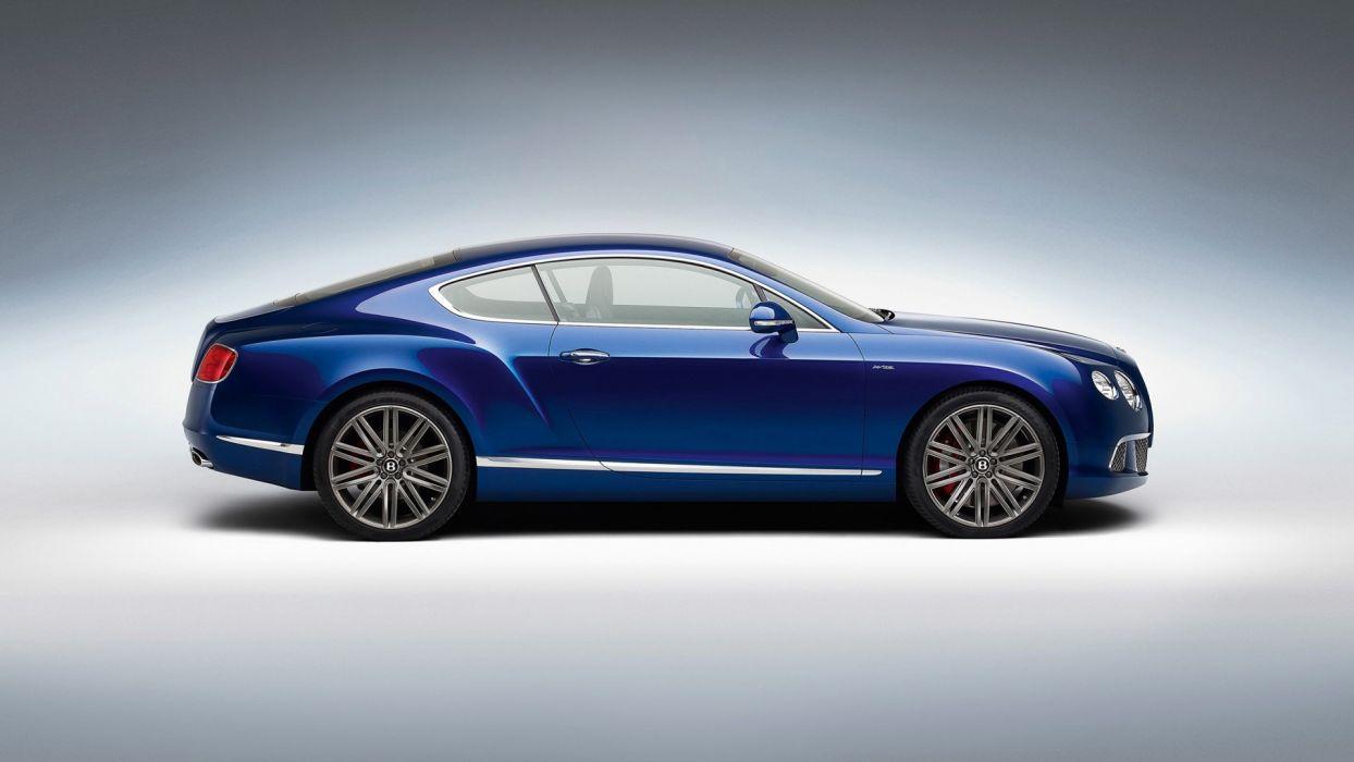 blue studio Bentley GT wallpaper