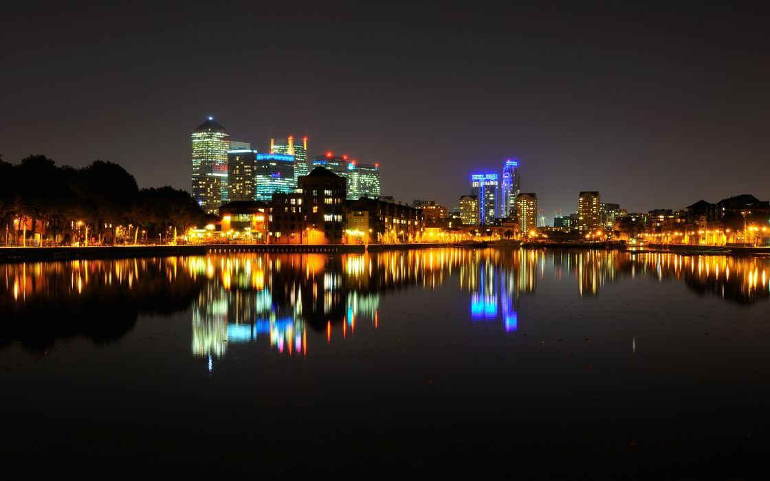 night lights cities wallpaper