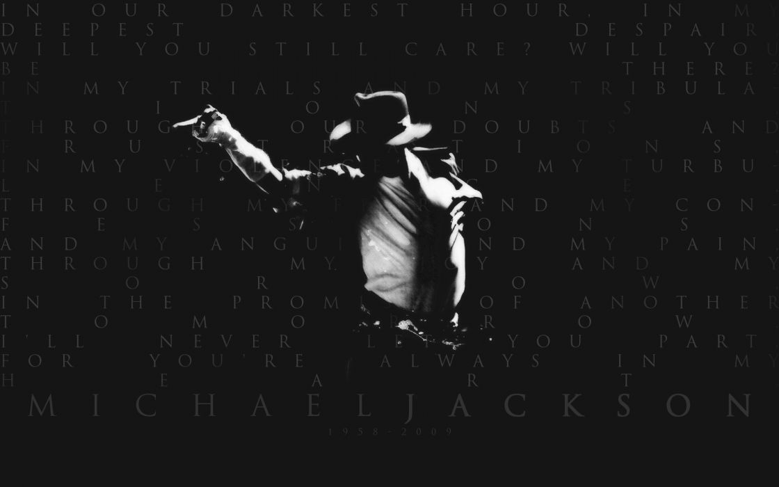 typography grayscale Michael Jackson singers tribute wallpaper