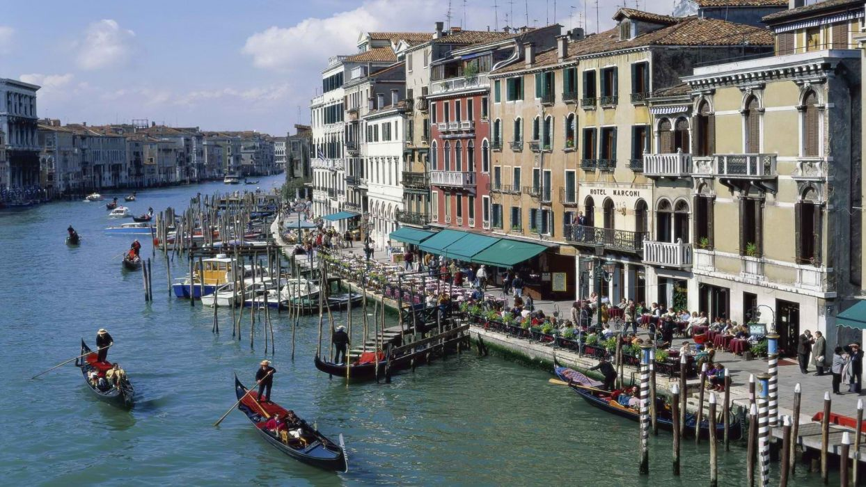 Venice grand Italy canal wallpaper