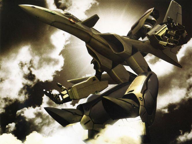 aircraft Macross robotech anime wallpaper