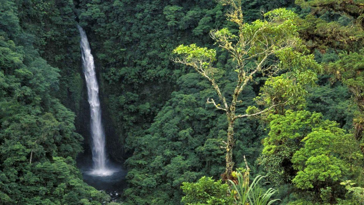 falls Costa Rica wallpaper