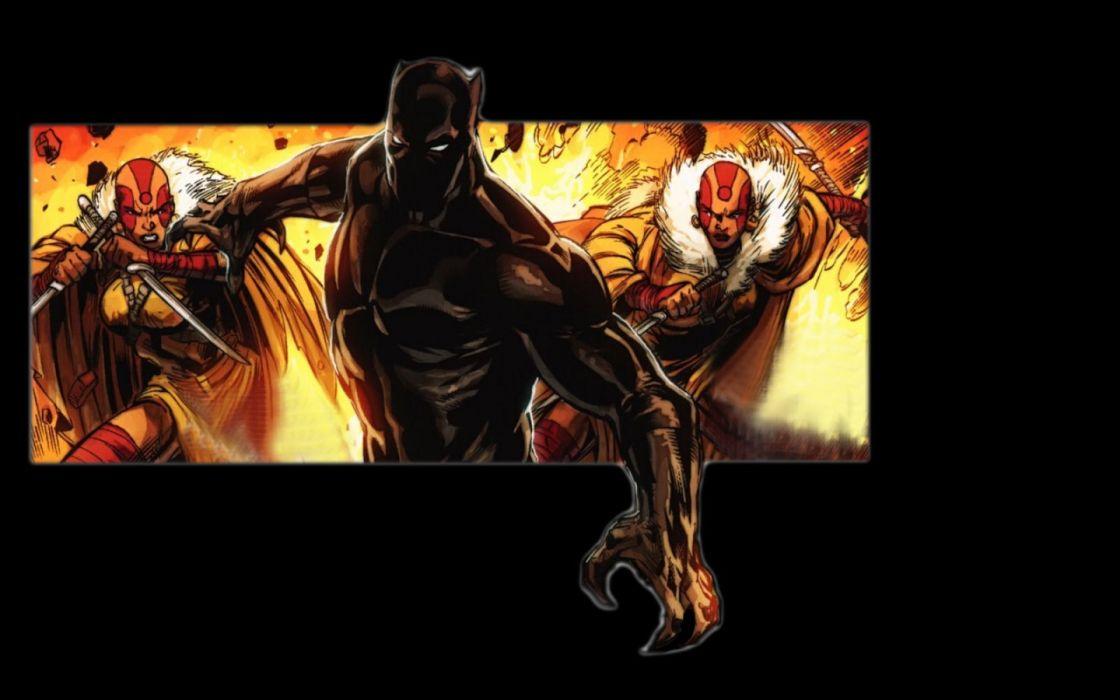 Black Panther Wallpaper Marvel: Black Panther Comics Marvel Comics Wallpaper