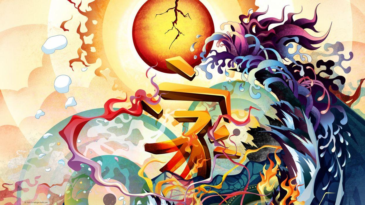 abstract Japan earthquake wallpaper