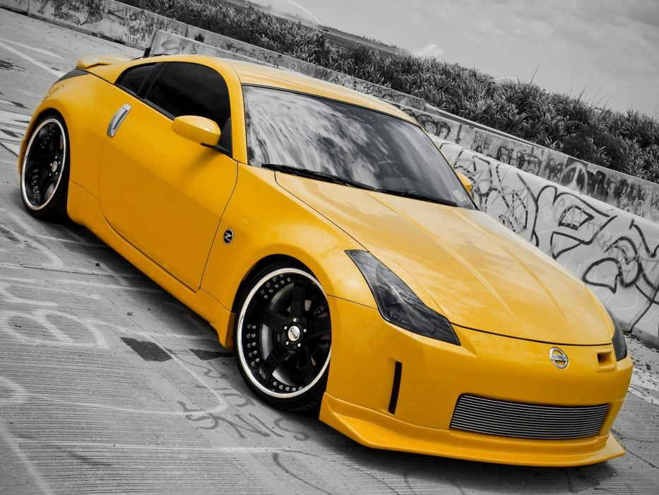 cars vehicles Nissan 350Z JDM Japanese domestic market wallpaper
