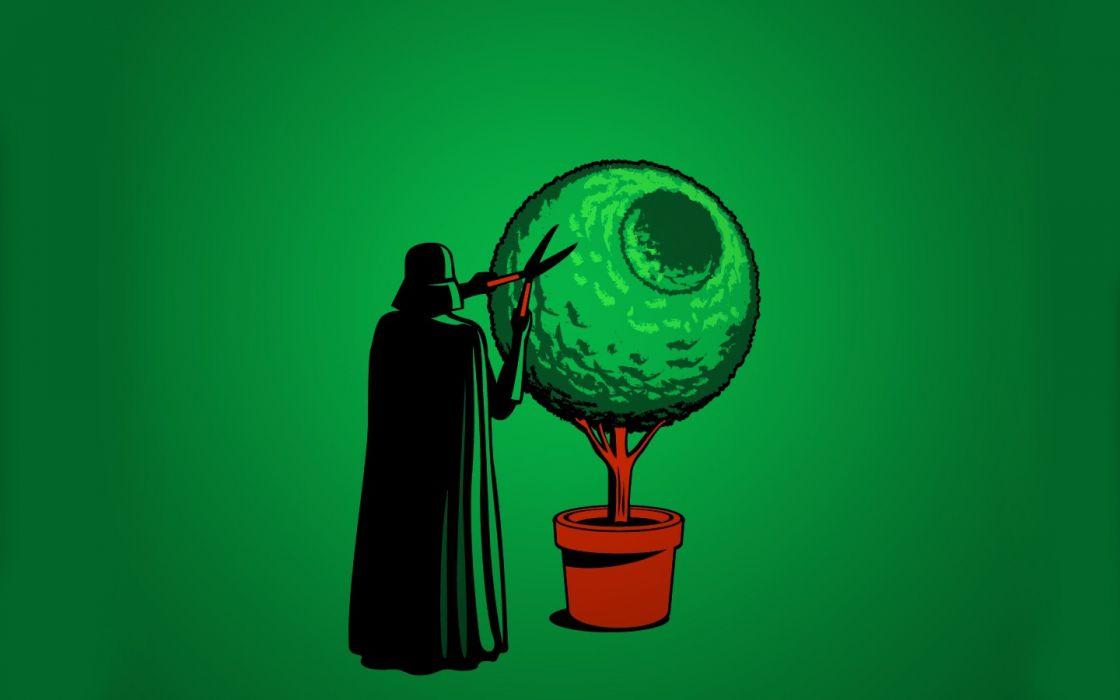 Darth Vader colors wallpaper