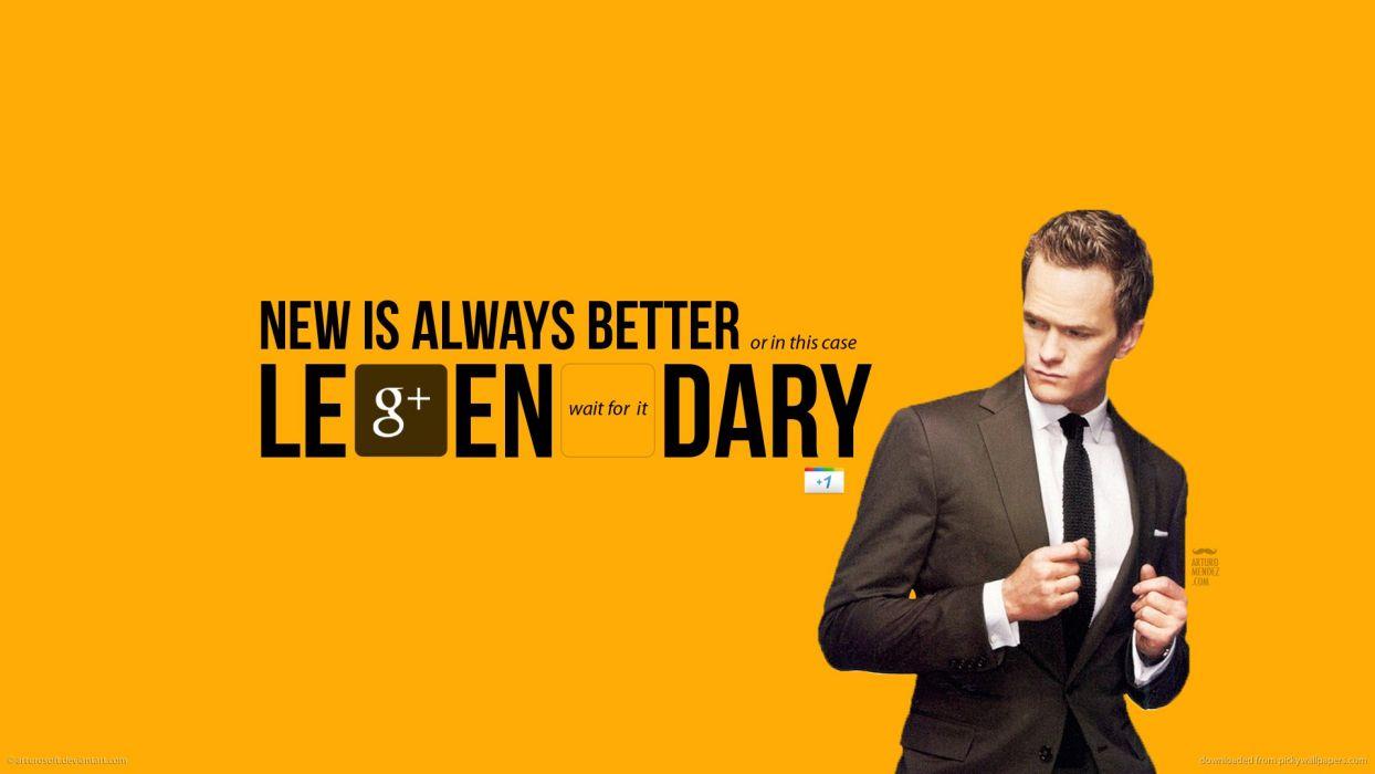 Neil Patrick Harris Legendary Barney Stinson How I Met Your
