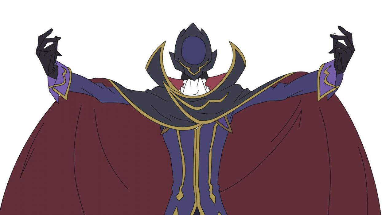 Code Geass Lamperouge Lelouch capes wallpaper
