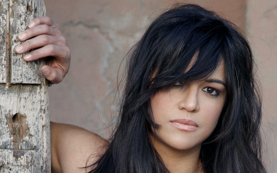 brunettes women actress Michelle Rodriguez wallpaper
