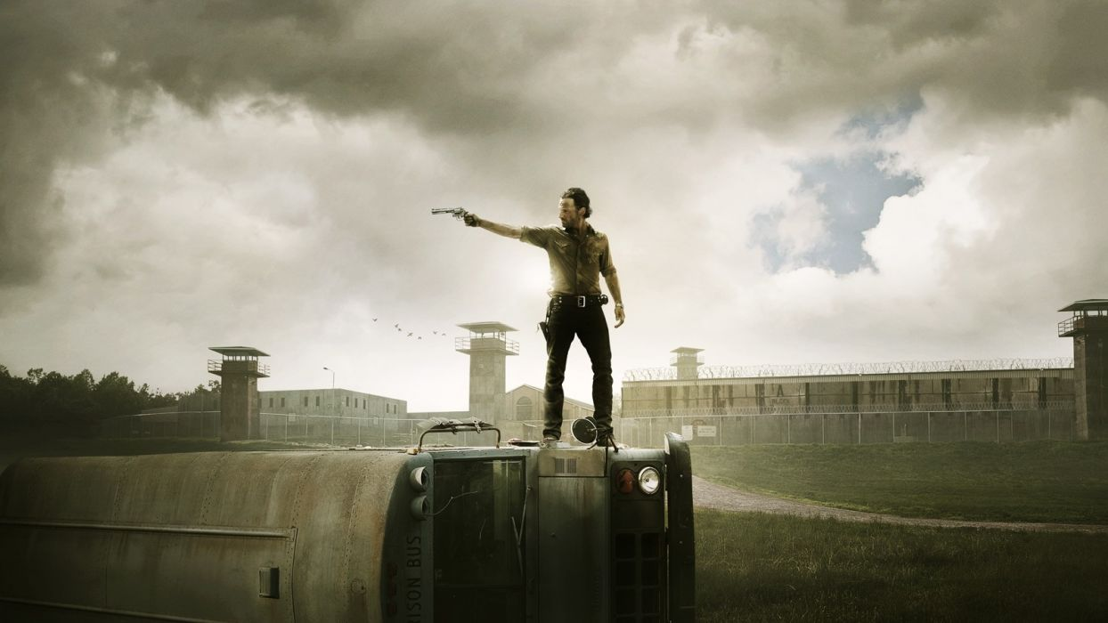 The Walking Dead TV Series Rick Grimes Wallpaper
