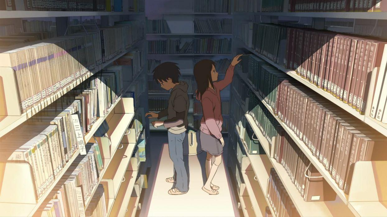 library Makoto Shinkai 5 Centimeters Per Second wallpaper