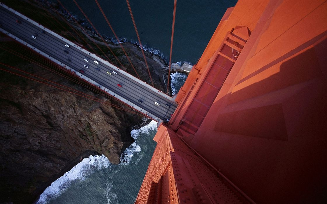 Tower Golden Gate Bridge wallpaper