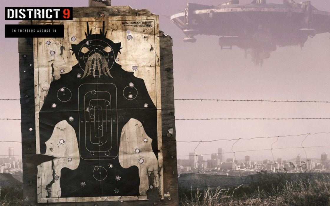 movies screenshots District 9 science fiction alien life forms wallpaper