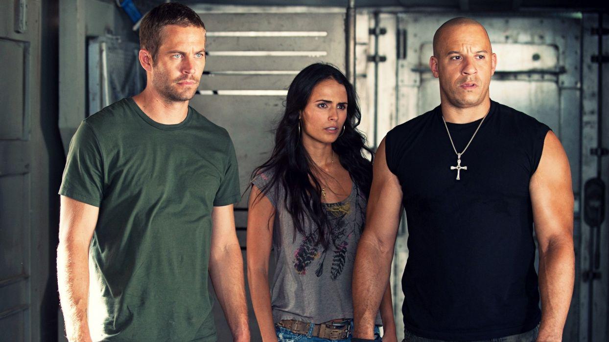 movies Jordana Brewster Hollywood Paul Walker Vin Diesel Fast Five M_I_A_ Fast Six dominic torreto wallpaper