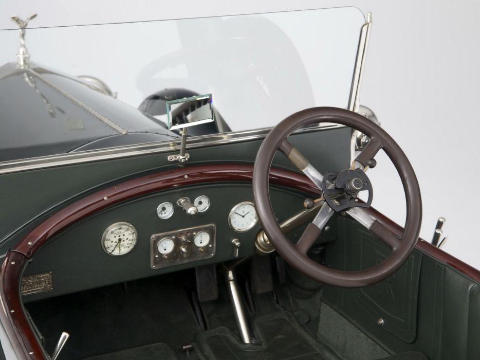 1920 Rolls Royce Silver Ghost Alpine Eagle Tourer retro luxury interior   h wallpaper