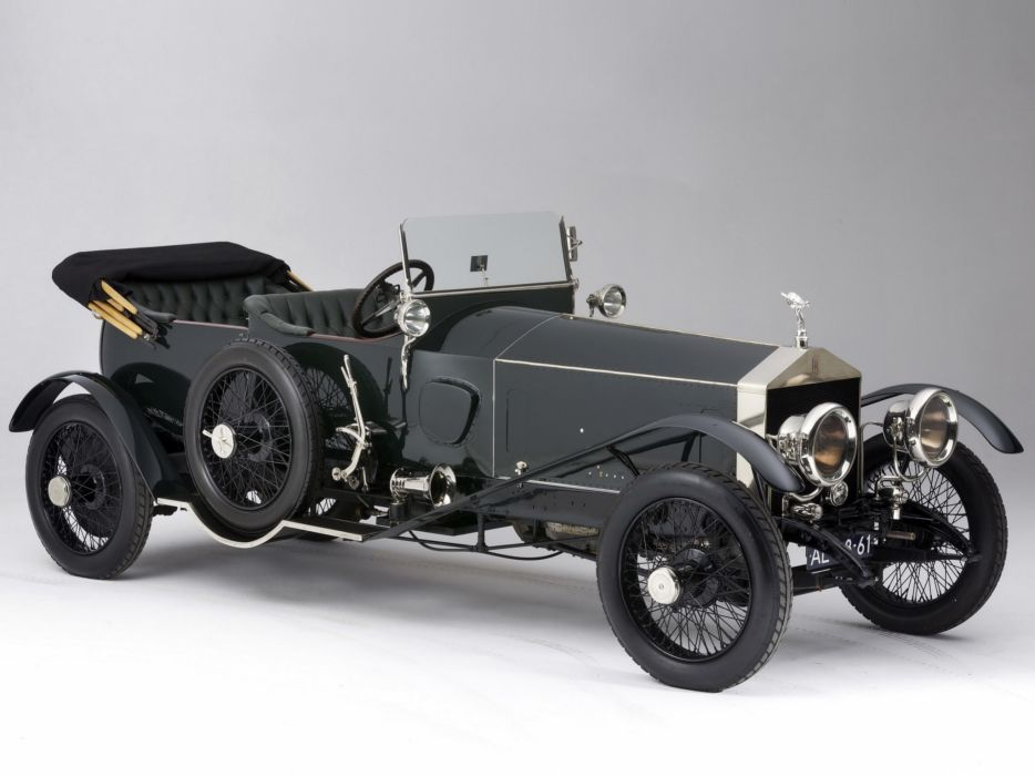 1920 Rolls Royce Silver Ghost Alpine Eagle Tourer retro luxury     g wallpaper