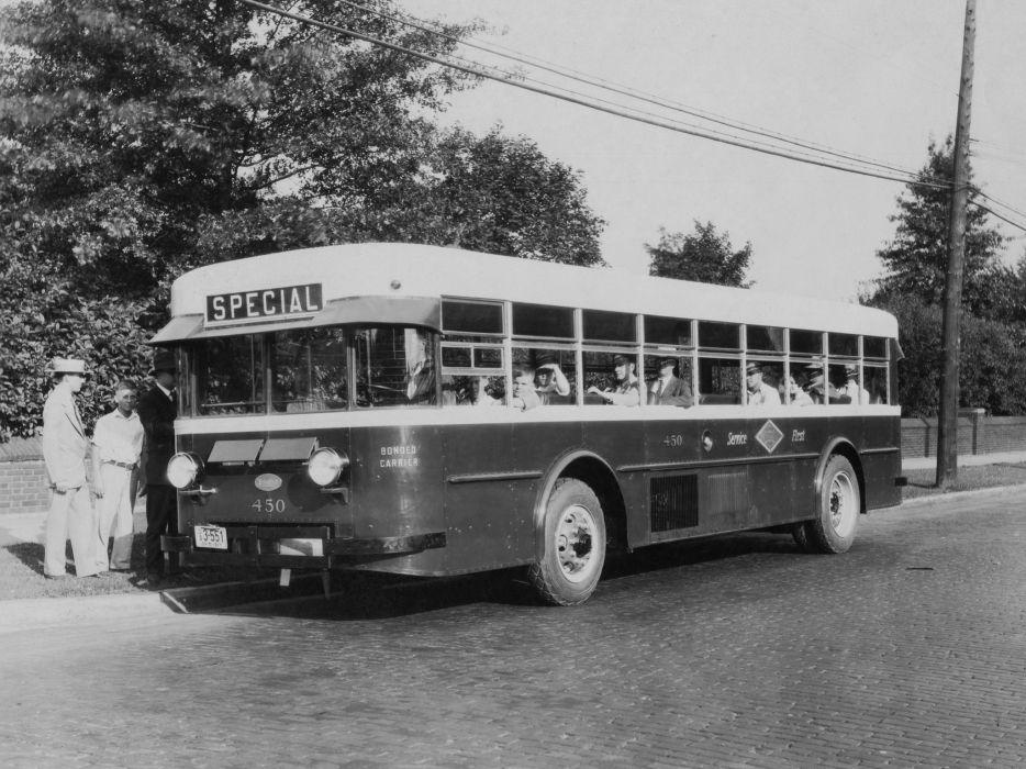 1927-34 Twin Coach Model-40 bus transport retro 1927 1934     8 wallpaper