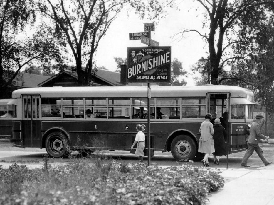 1927-34 Twin Coach Model-40 bus transport retro 1927 1934  r wallpaper