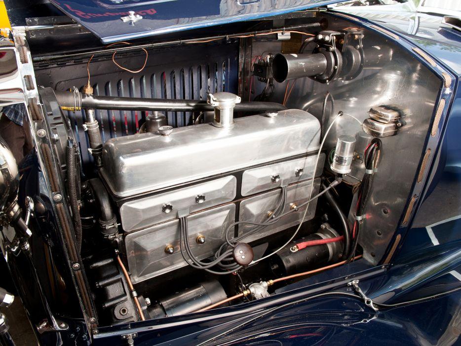 1928 Vauxhall R-Type 20-60 Hurlingham Speedster retro engine  d wallpaper
