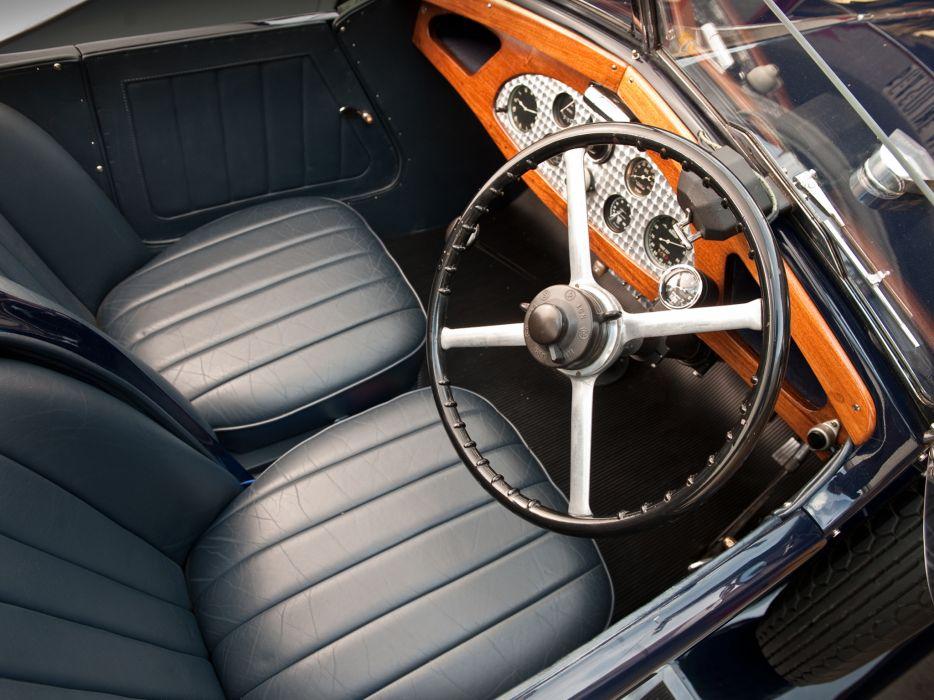 1928 Vauxhall R-Type 20-60 Hurlingham Speedster retro interior    f wallpaper