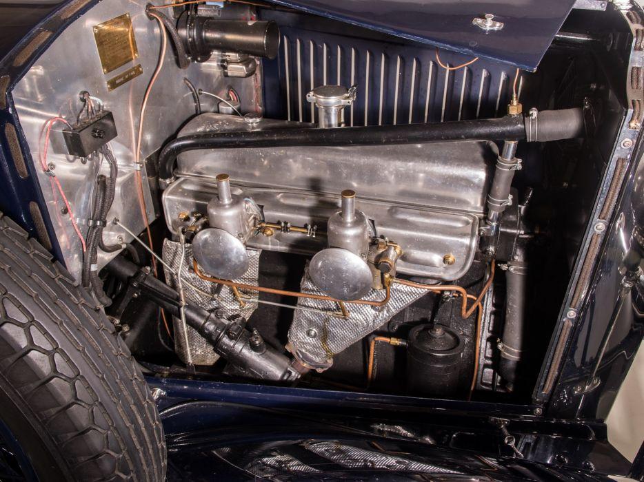 1928 Vauxhall R-Type 20-60 Hurlingham Speedster retro engine     f wallpaper