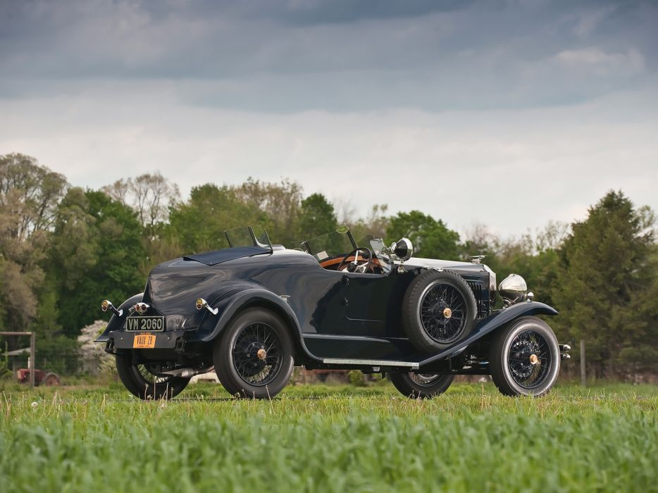 1928 Vauxhall R-Type 20-60 Hurlingham Speedster retro  d wallpaper