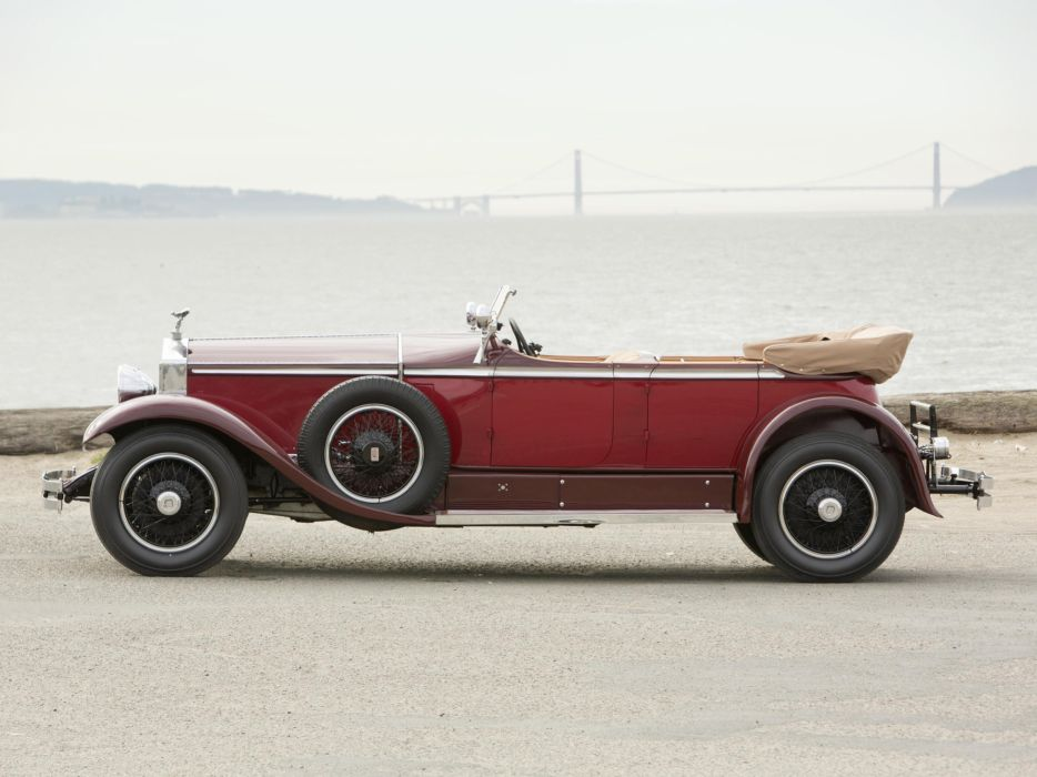1929 Rolls Royce Phantom I Ascot Tourer Brewster (S178FR)  t wallpaper