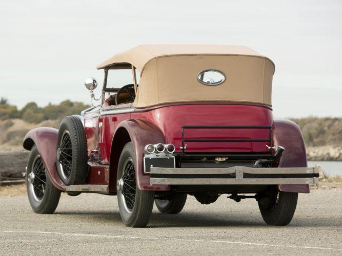1929 Rolls Royce Phantom I Ascot Tourer Brewster (S178FR) r wallpaper