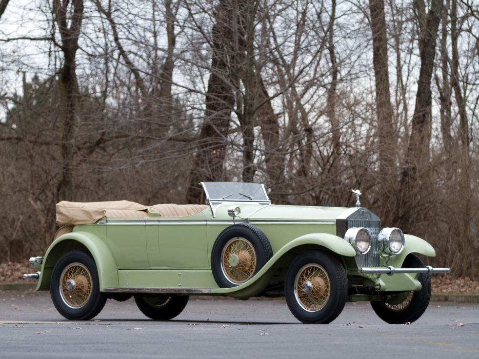 1929 Rolls Royce Phantom I Ascot Tourer Brewster (S398KP-5418) luxury retro     r wallpaper