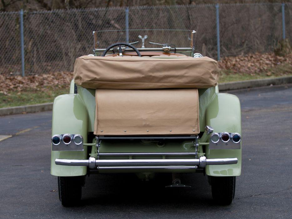 1929 Rolls Royce Phantom I Ascot Tourer Brewster (S398KP-5418) luxury retro e wallpaper