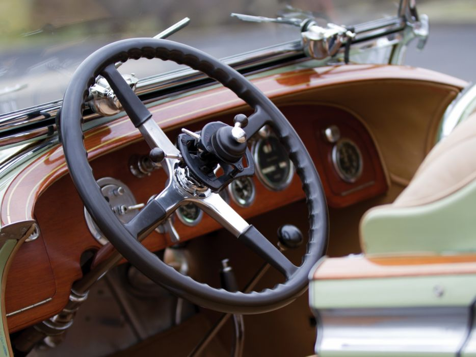 1929 Rolls Royce Phantom I Ascot Tourer Brewster (S398KP-5418) luxury retro interior    h wallpaper