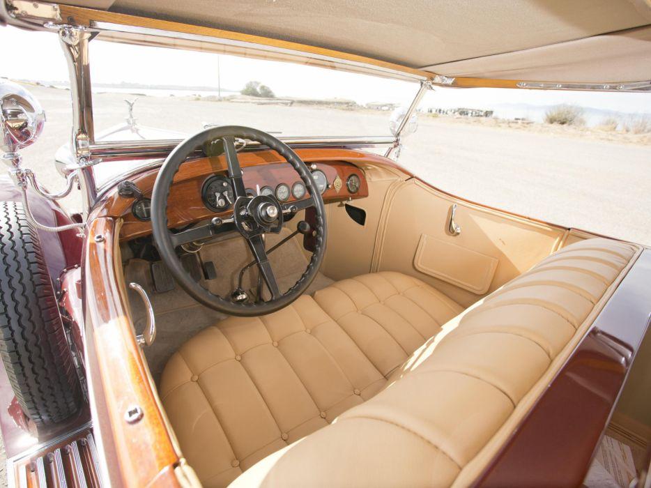 1929 Rolls Royce Phantom I Ascot Tourer Brewster (S178FR) interior    g wallpaper