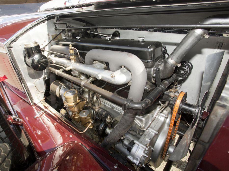 1929 Rolls Royce Phantom I Ascot Tourer Brewster (S178FR) engine       f wallpaper