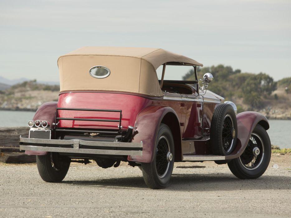 1929 Rolls Royce Phantom I Ascot Tourer Brewster (S178FR)     e wallpaper