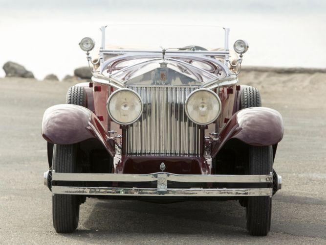 1929 Rolls Royce Phantom I Ascot Tourer Brewster (S178FR) y wallpaper