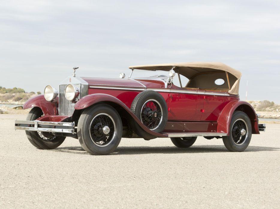 1929 Rolls Royce Phantom I Ascot Tourer Brewster (S178FR)  g wallpaper