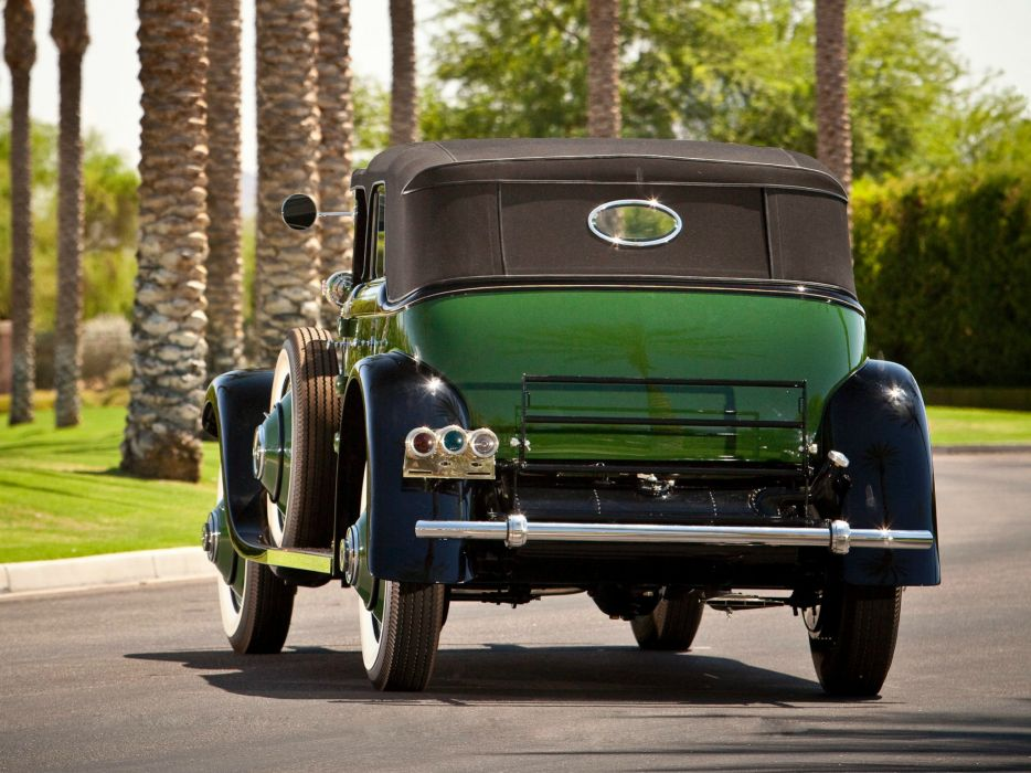 1929 Rolls Royce Springfield Phantom I Convertible Sedan Hibbard Darrin luxury retro  r wallpaper