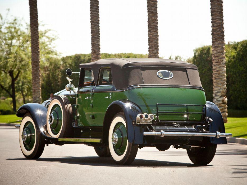 1929 Rolls Royce Springfield Phantom I Convertible Sedan Hibbard Darrin luxury retro v wallpaper
