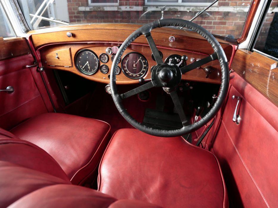 1934 Rolls Royce Phantom II Continental Sports Saloon Gurney Nutting retro luxury interior  h wallpaper