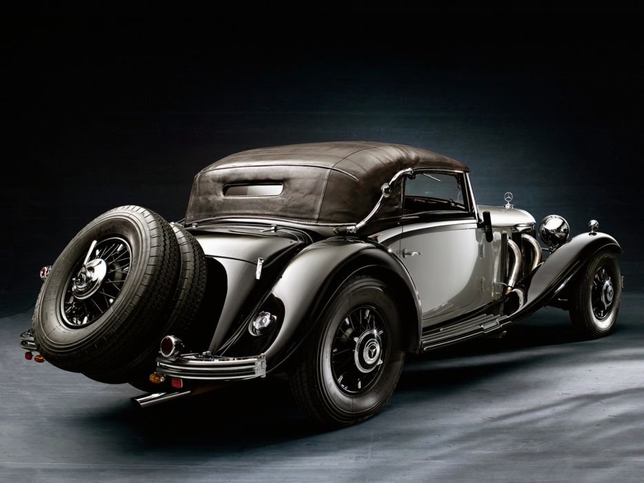 1935 Mercedes Benz 500K Cabriolet A luxury retro wheel   h wallpaper