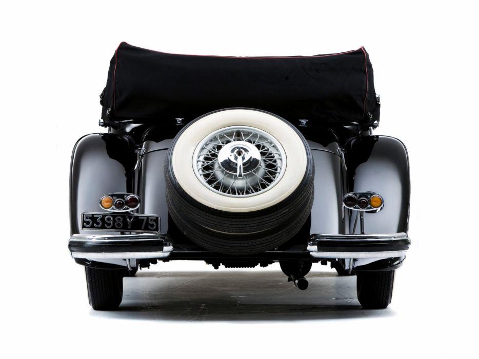 1935 Mercedes Benz 500K Cabriolet A luxury retro wheel    f wallpaper